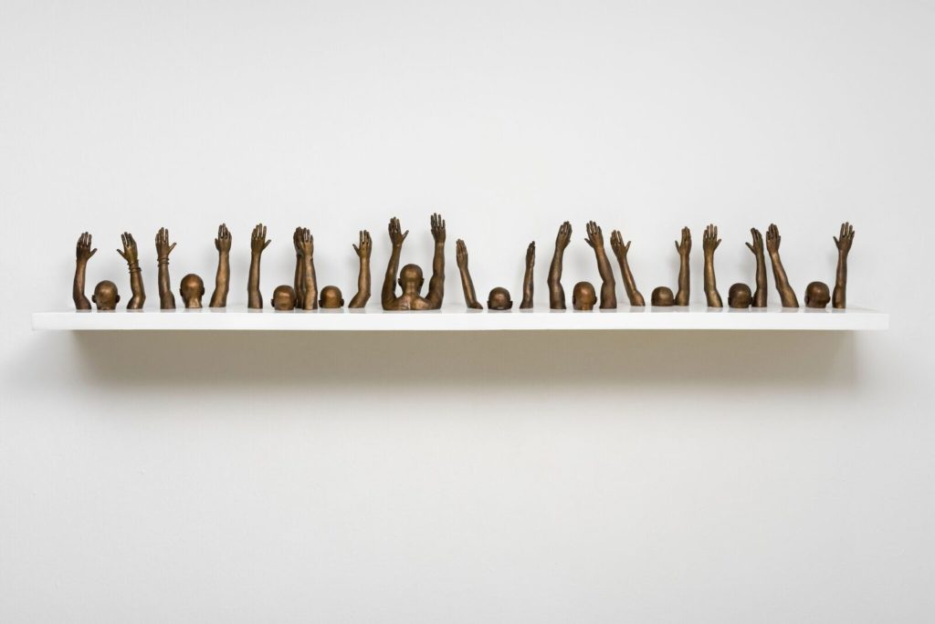 Raise Up, 2014 © Hank Willis Thomas. Courtesy of the artist and Jack Shainman Gallery, New York